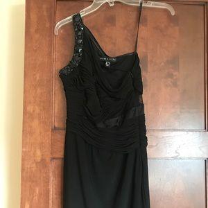 Aidan Matrix | Black Cocktail Dress
